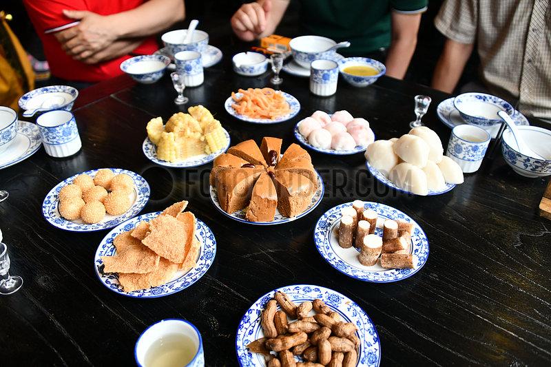 #CHINA-GUIZHOU-ZUNYI-GELAO ETHNIC GROUP-BANQUET(CN)