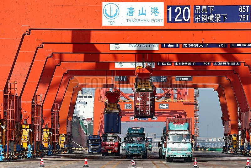 CHINA-TANGSHAN PORT-CARGO THROUGHPUT (CN)