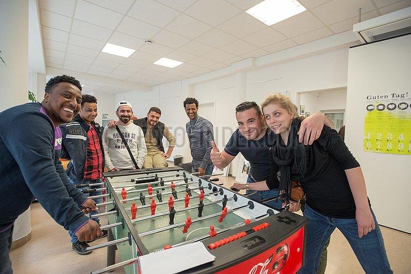 Gefluechtete in Giessen | Refugees in Giessen