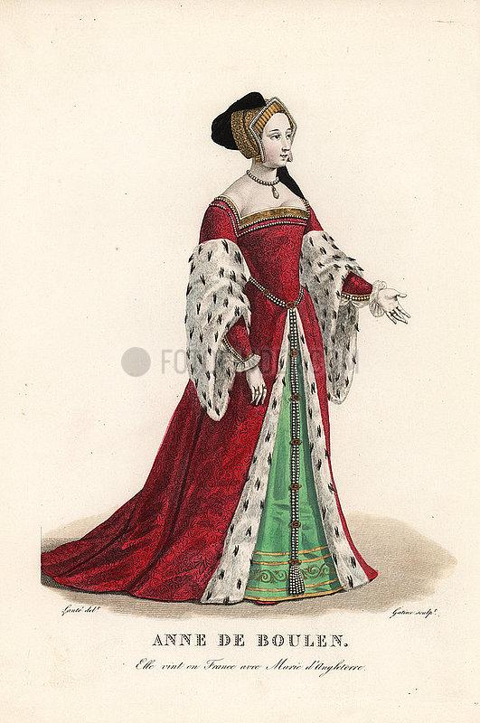 Anne Boleyn,  Queen of England,  second wife to Henry VIII 1501-1536.