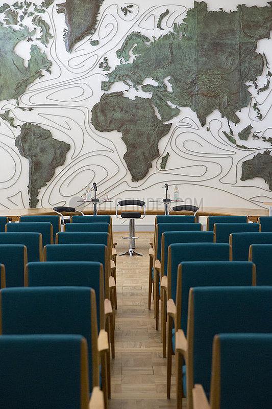 Impressionen aus der Dienststelle des Auswaertigen Amtes in Bonn