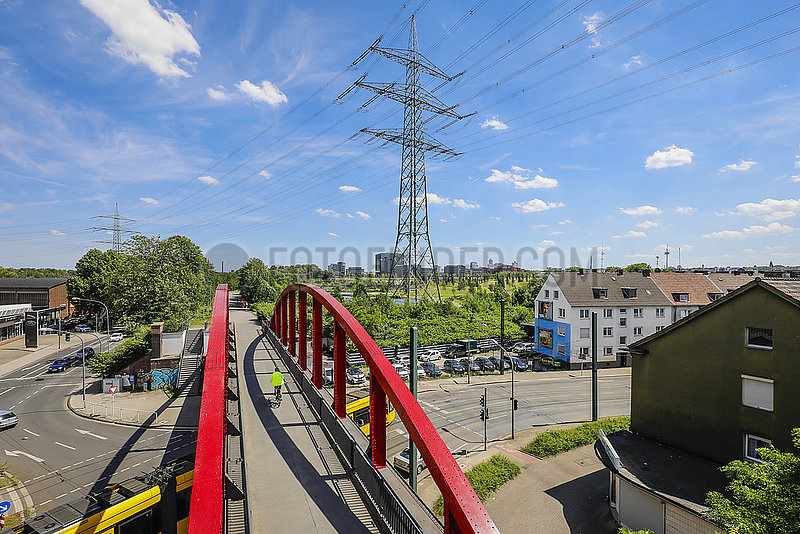 Fahrradautobahn,  Radschnellweg Ruhr RS1,  Essen,  Ruhrgebiet,  Deutschland