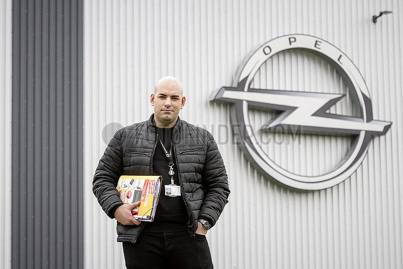 Yunus-Emre Yildirim,  Kandidat fuer den Betriebsrat bei der Betriebsratswahl 2018 in der Opel Group Warehousing GmbH