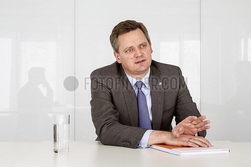 Joerg Timmermann,  Vorstand und Vorstandssprecher der Weidmueller Interface GmbH & Co. KG