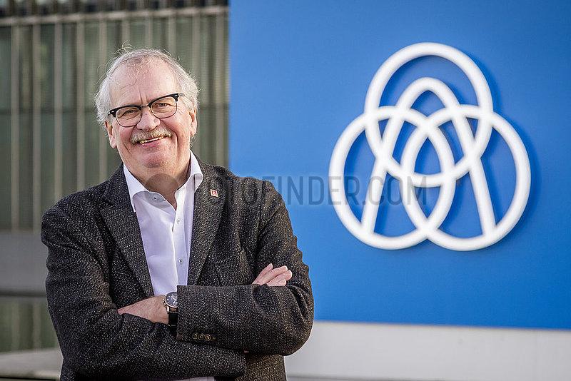 Wilhelm Segerath,  ehemaliger Vorsitzender des Konzernbetriebsrat der ThyssenKrupp AG