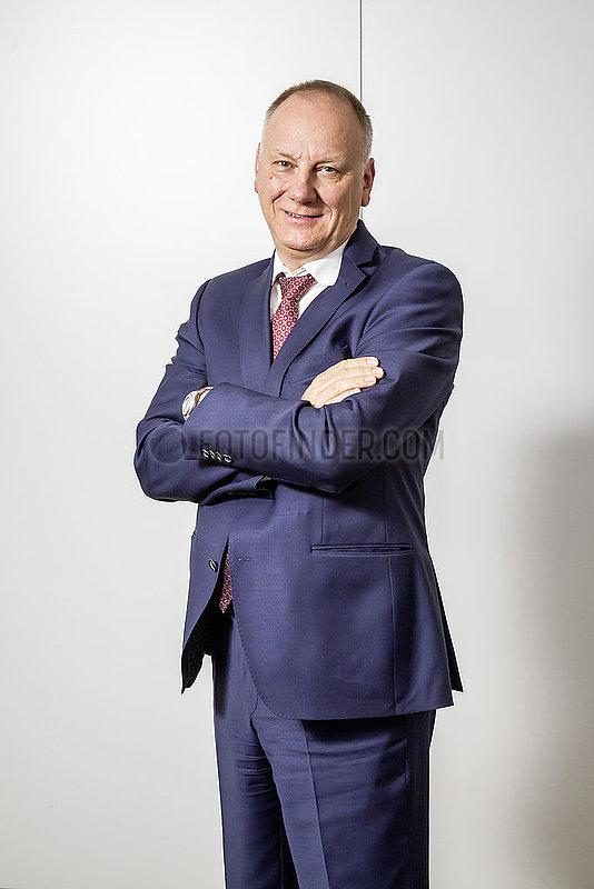 Frank-Olaf Kassau,  Bevollmaechtigter des Vorstandes und Unternehmensbereichsleiter Serviceleistungen