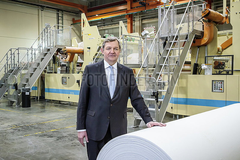 Martin Krengel,  Vorstandsvorsitzender der WEPA Hygieneprodukte GmbH