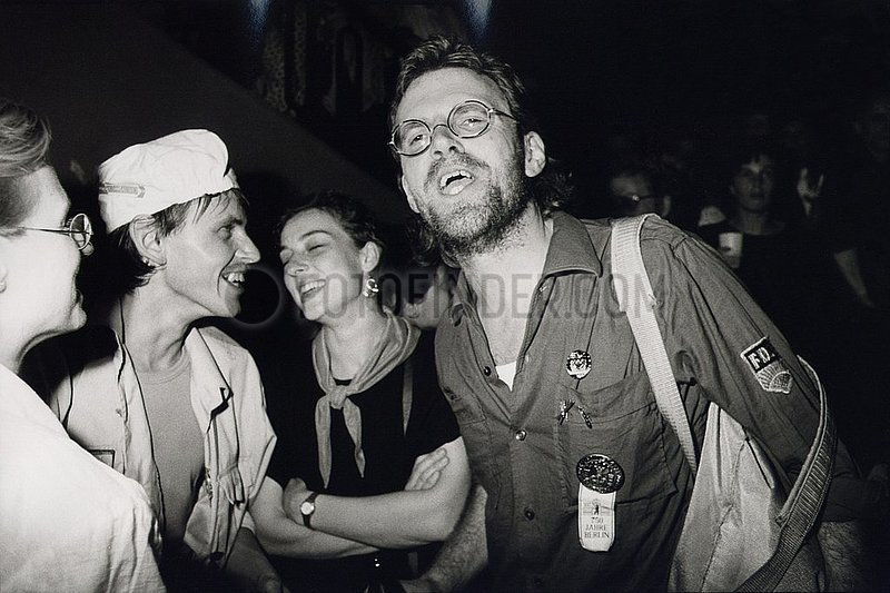 30. Juni 1990,  DDR- Abschiedsparty