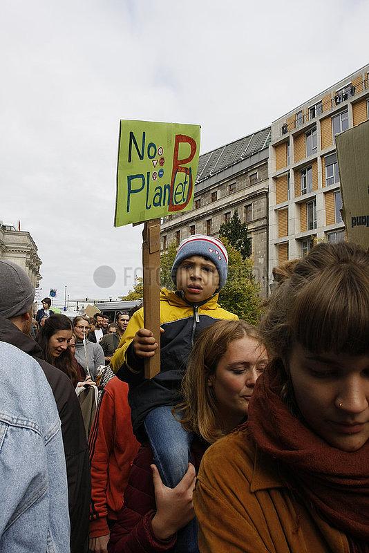 Klimastreik Demonstration in Berlin