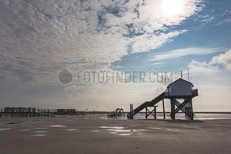 North-Sea Tidelands National Park - St. Peter-Ording Germany