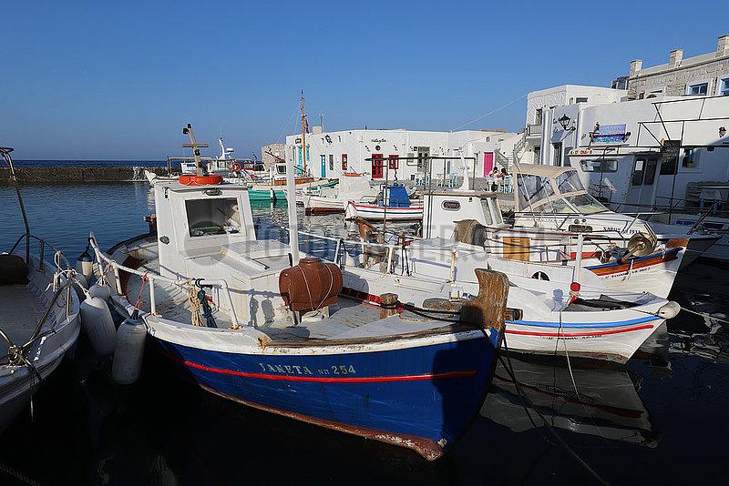 Kykladeninsel Paros im Aegaeischen Meer