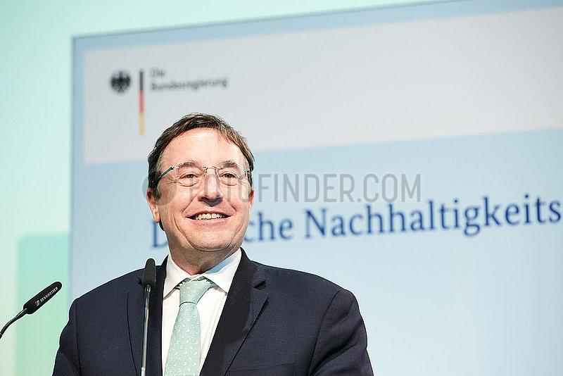 Berlin,  Deutschland - Achim Steiner,  Untergeneralsekretaer der Vereinten Nationen.