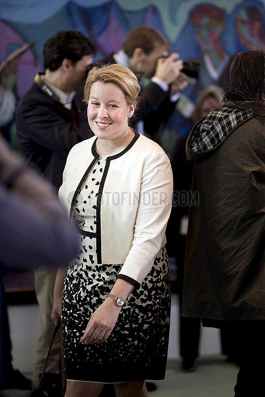 Franziska Giffey,  Kabinett