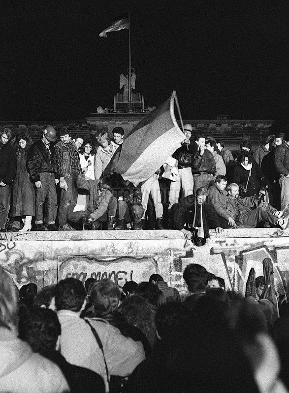 Mauerfall,  November 1989