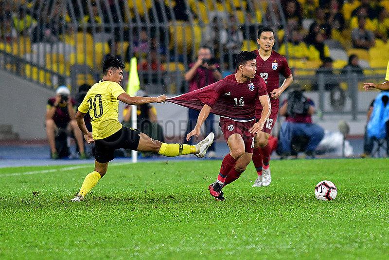 (SP) MALAYSIA-KUALA LUMPUR-FUSSBALL-2022 FIFA WM-Qualifikationsspiel-GRUPPE G-MALAYSIA VS THAILAND