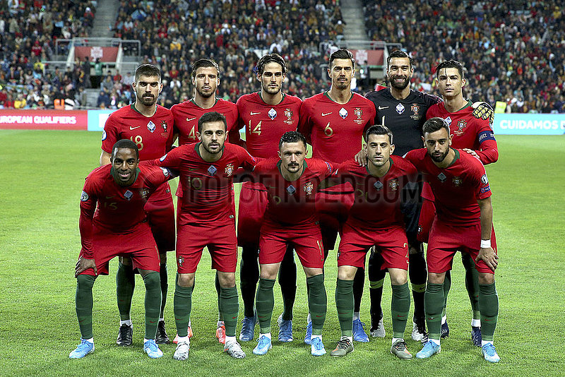 (SP) von Portugal-FARO-Fussball-EURO 2020 Qualifier-GRUPPE B-PORTUGAL VS LITAUEN
