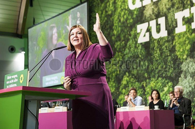 Katharina Fegebank - 44. Ordentliche Bundesdelegiertenkonferenz der Grünen 15. - 17. November 2019,  Bielefeld