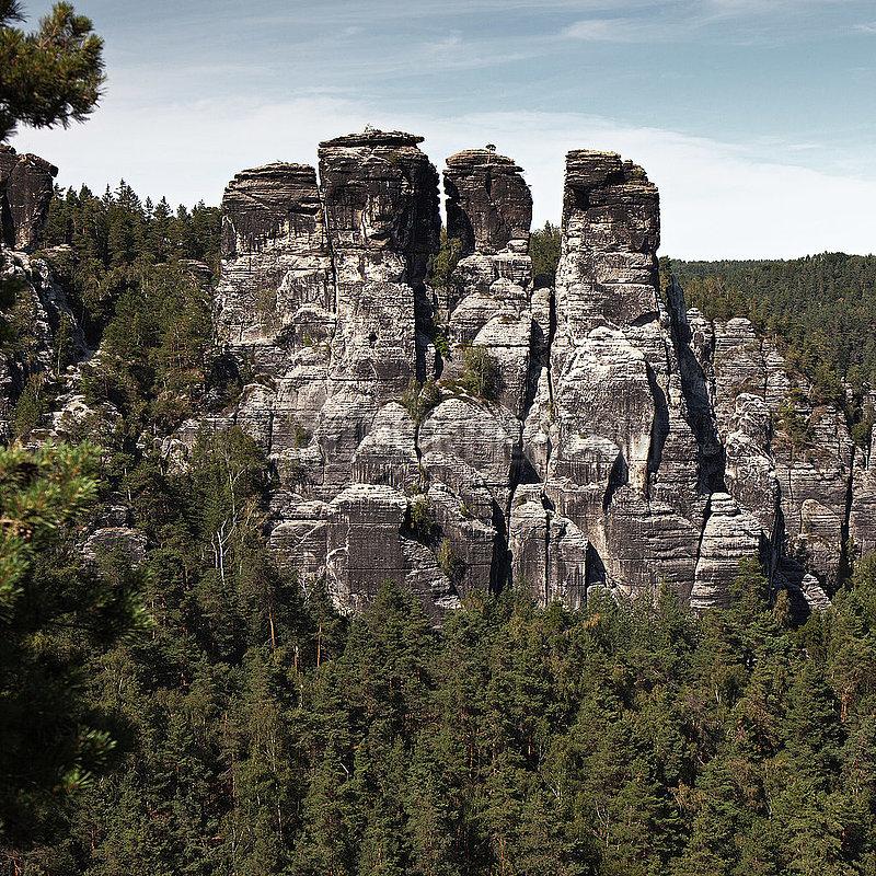Elbe Sandstone Mountains - Germany