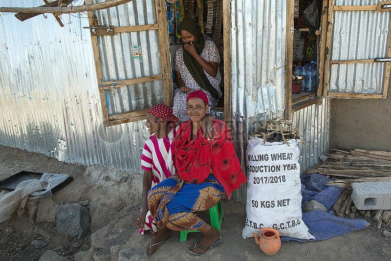 Adama,  Oromiyaa,  Aethiopien - Fluechtlingslager,  Binnenfluechtlinge aus der Somali Region