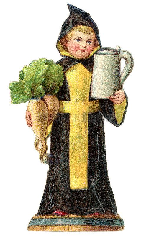 Muenchener Kindl,  Poesiebild,  1898