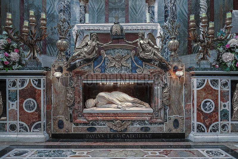 Rom. Santa Cecilia in Trastevere Rom. Santa Cecilia in Trastevere