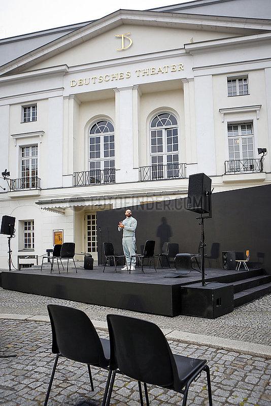 Deutsches Theater Berlin DIE PEST ,  Open-Air