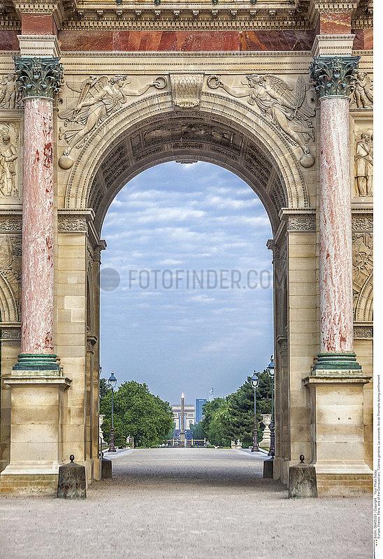 Arc de triomphe monument