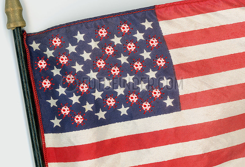 Coronakrise in den USA,  Symbolbild