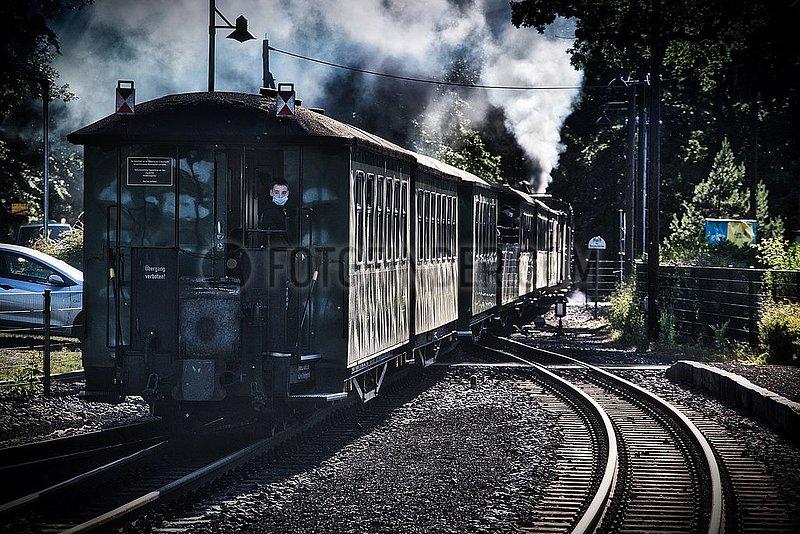 Historische Schmalspurbahn Der Rasende Roland