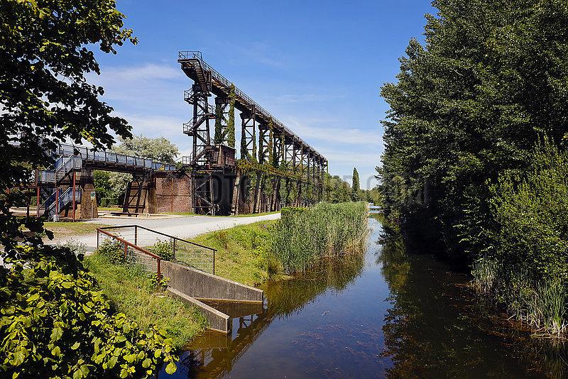 Landschaftspark Duisburg-Nord,  Ruhrgebiet,  Nordrhein-Westfalen,  Deutschland,  Europa