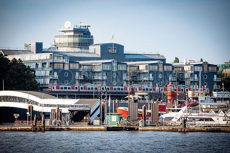 Gruner und Jahr Verlagshaus am Hafen