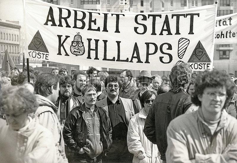 IG Metall Kundgebung,  Berlin,  1991