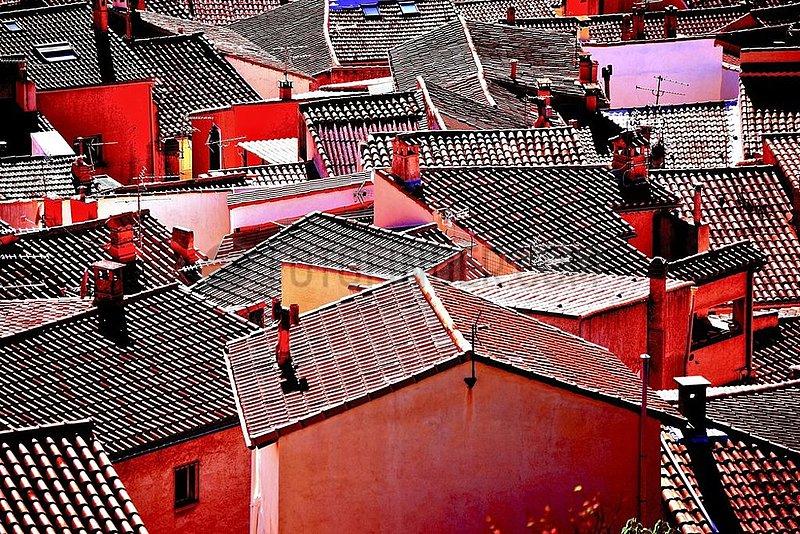 Dächer von Allauch