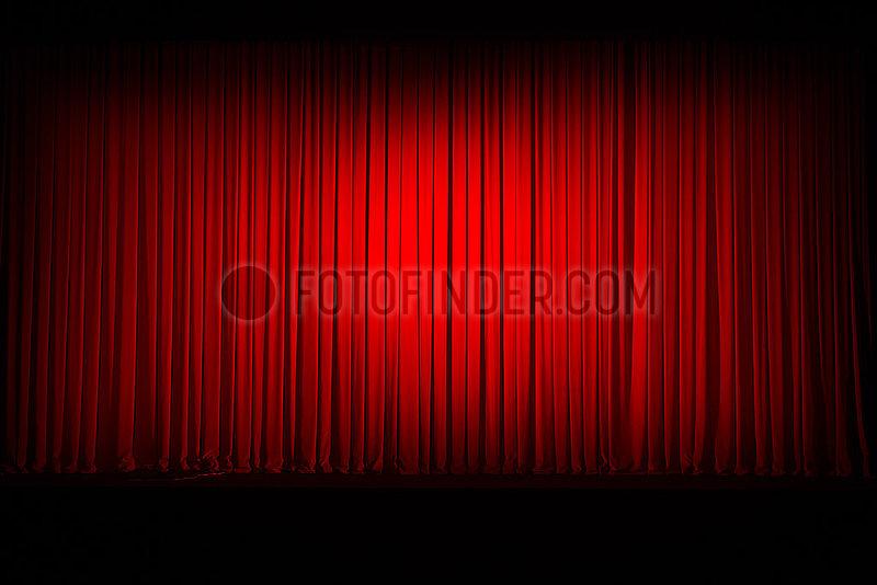 Komische Oper Berlin,  Buehnenvorhang