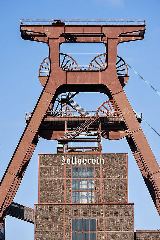 Zeche Zollverein,  Essen,  Ruhrgebiet,  Nordrhein-Westfalen,  Deutschland
