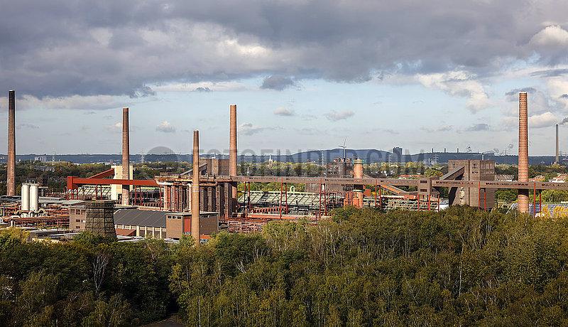 Kokerei Zollverein auf der Zeche Zollverein,  Essen,  Ruhrgebiet,  Nordrhein-Westfalen,  Deutschland