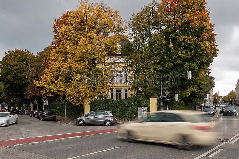 Marsalek Villa in der Prinzregentenstraße