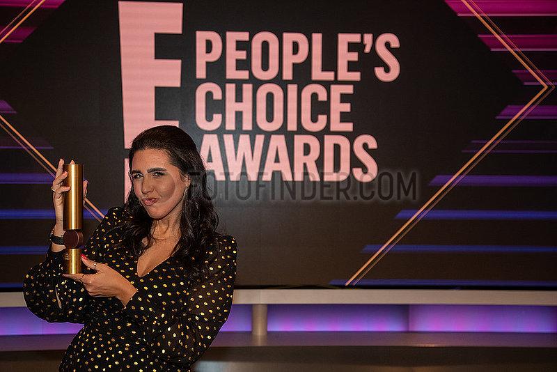 Photocall: E! People's Choice Award