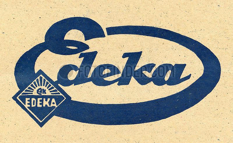 altes Edeka Logo,  1929