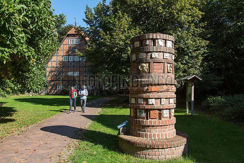 Deutschland,  Winsen / Aller - Bildungsstaette Sunder des NABU beim Naturschutzgebiet Meissendorfer Teiche