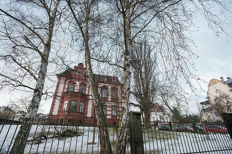 Horst-Eberhard-Richter-Institut auf Schnee