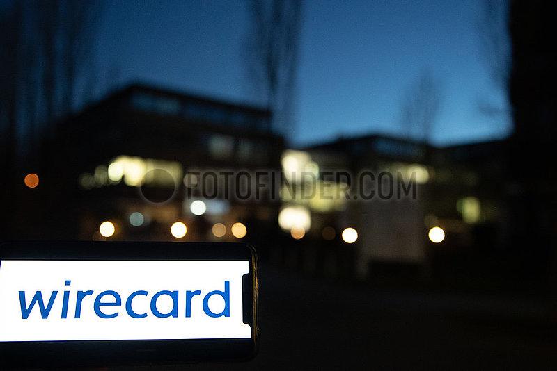 (Noch-) Wirecard Sitz - Ohne Logo