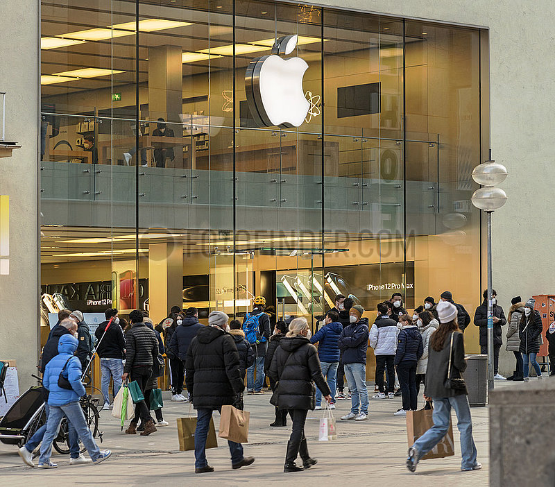 Apple Store,  Muenchen,  20.03.2021