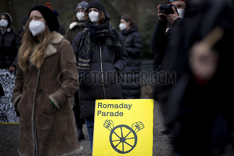 Romaday Protest - Sinti and Roma