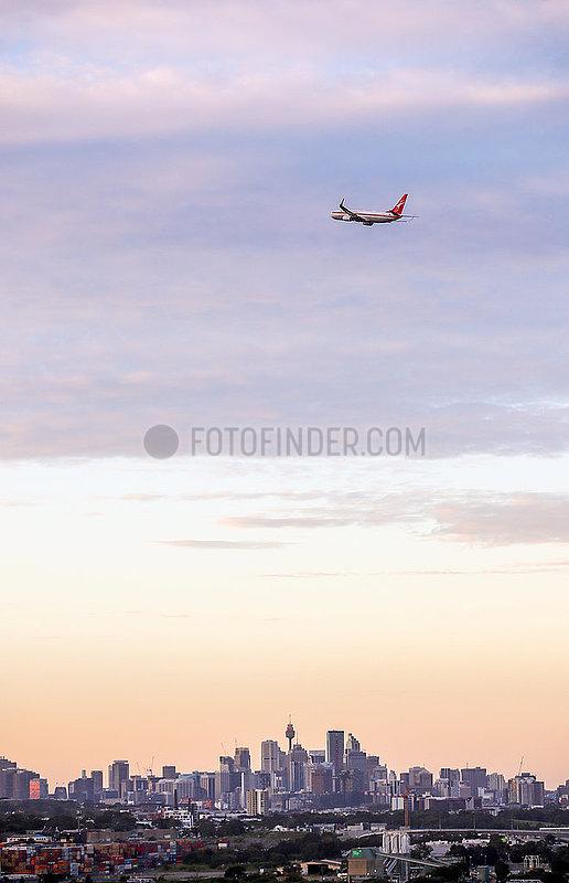 AUSTRALIEN-SYDNEY-AIRLINE
