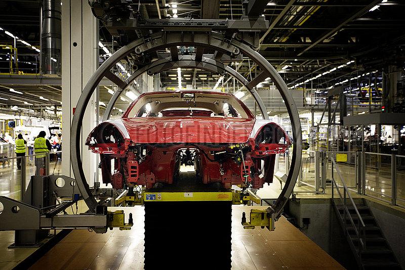 Car Production At Porsche Plant Leipzig