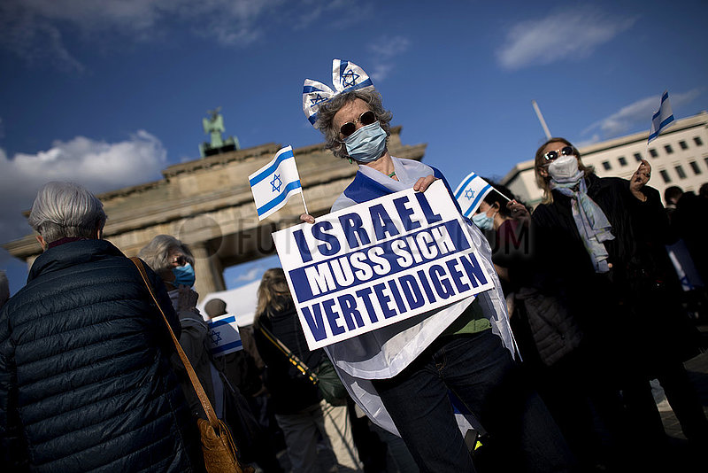 Pro-Israel-Demonstration,  Berlin