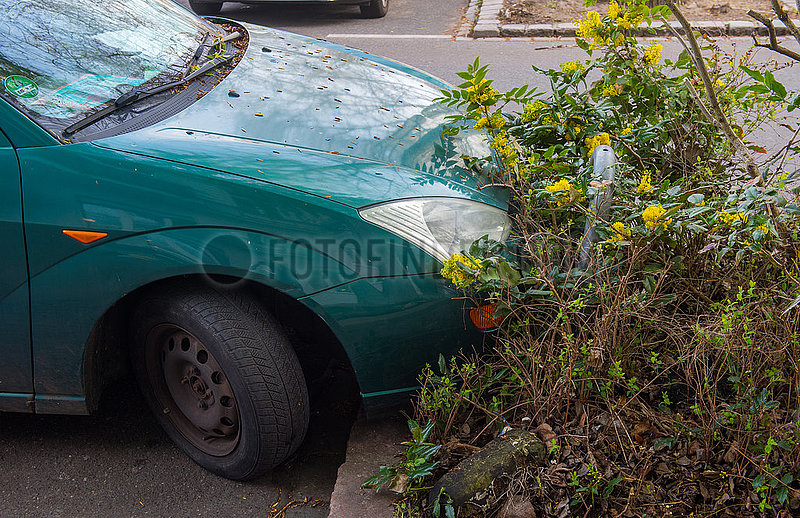 Berlin,  Deutschland,  Mitte -Parkplatzprobleme