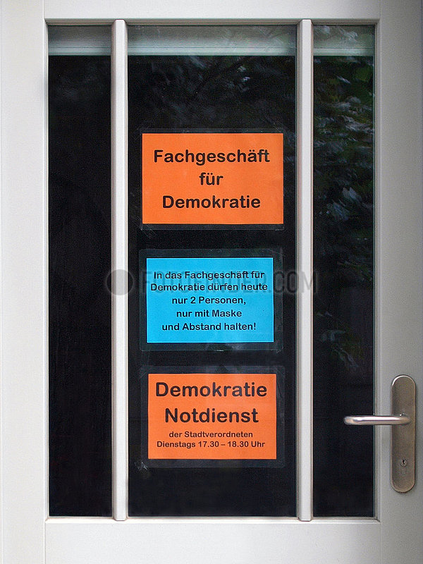 Fachgeschaeft fuer Demokratie