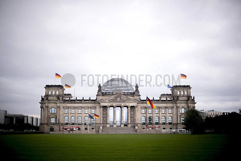 Reichstag,  Deutscher Bundestag